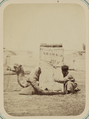 Zeravshan District. City of Samarkand. Loading Goods onto a Camel WDL11146.png