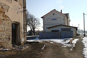 Zlonice - Zlonice Train Station