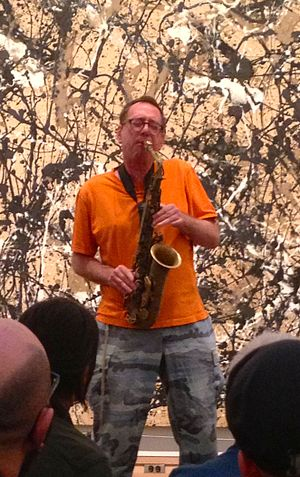 John Zorn - John Zorn performing at the Metropolitan Museum of Art in September 2013