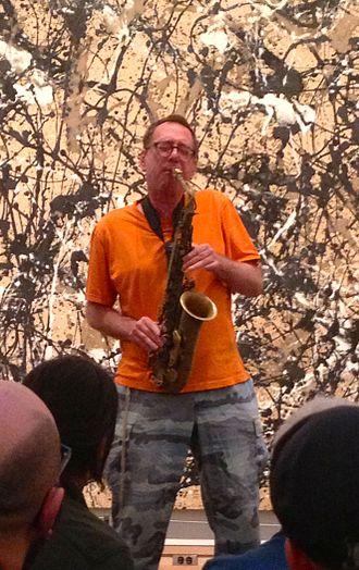 John Zorn - John Zorn performing at the Metropolitan Museum of Art in September 2013