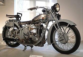 Victoria (motorcycle) - 1931 Victoria KR 50 S in the Zweirad-Museum Neckarsulm