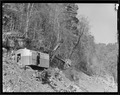 """Another view of power shovel making roadway on hillside at Norris Dam site."" - NARA - 532703.tif"
