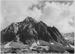 """Center Peak, Center Basin, Kings River Canyon (Proposed as a national park),"" California, 1936., ca. 1936 - NARA - 519931.tif"