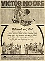 """""""Oh Pop!"""" 1917 ad with Victor Moore and Klever Kiddies in Motion Picture News (Jul-Aug 1917) (IA motionpicturenew161unse) (page 13 crop).jpg"""