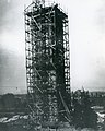 """""""Stand Pipe No. 3, - June 1, 1899."""" (Compton Hill Water Tower under scaffolding during construction).jpg"""