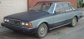 Toyota Mark II - 1982 Toyota Cressida (Canada; pre-facelift)