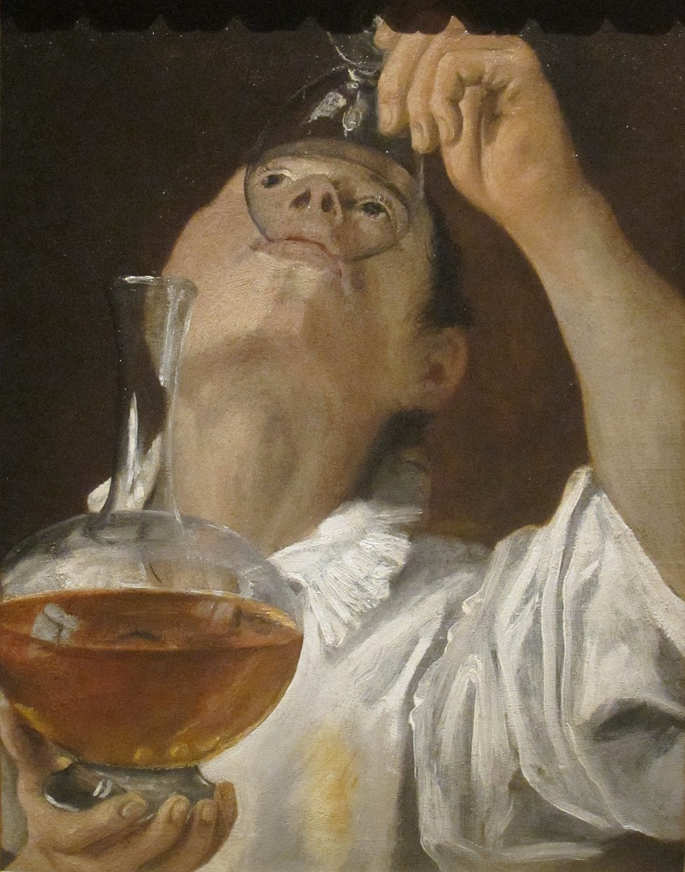 'Boy Drinking' by Annibale Carracci, 1582-83