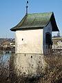 'Heilig Hüsli' am nördlichen Brückenkopf der Holzbrücke Rapperswil-Hurden in Rapperswil 2013-12-01 14-40-06 (P7800).jpg