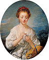 'La Simplicité (Simplicity)', oil on canvas painting by Jean-Baptiste Greuze, 1759, Kimbell Art Museum.jpg
