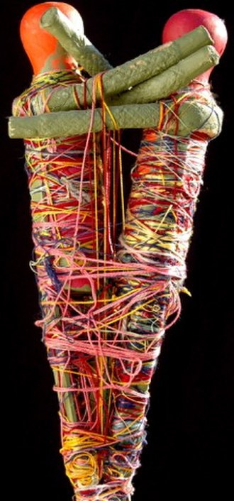 Judith Scott (artist) - Sculpture by Judith Scott