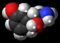 (R)-Norfenefrine molecule spacefill.png