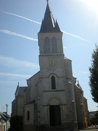 Camoël - The church in Camoël