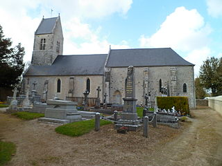 Hiesville Commune in Normandy, France