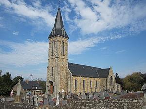 L'église Saint-Médard et Saint-Gildas.