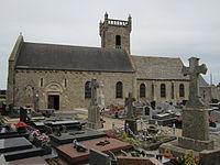 Église Saint-Martin-et-Sainte-Trinité de Néville-sur-Mer.JPG