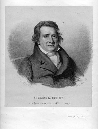 Pierre Étienne Louis Dumont - Étienne Dumont