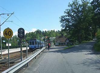 Österskär - Österskär railway station