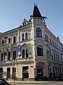 České Budějovice, roh ulic U Černé věže a Hroznová (01).jpg