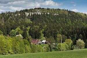 Stołowe Mountains - Image: Łężno widok na Kopę Śmierci