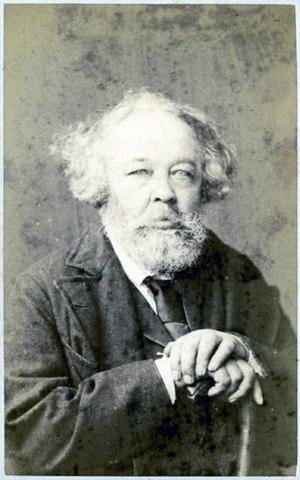 М.А.Бакунин в 1872 году