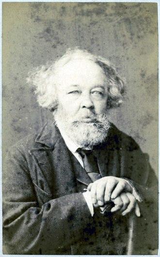 Mikhail Bakunin - Bakunin in 1872