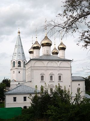 Vyazniki, Vladimir Oblast - Annunciation church