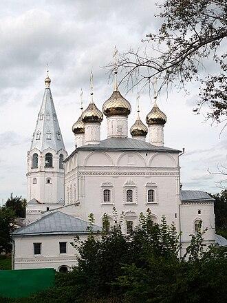 Vyazniki, Vladimir Oblast - Annunciation church
