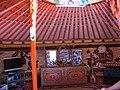 Етнографія. Монгольська юрта зсередини. Пустеля Гобі, Монголія.jpg