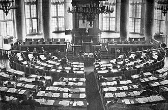 Progressive Bloc (Russia) - Hall of the Sessions of the State Duma.