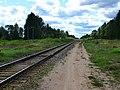 Место платформы бывшего о.п. Малнава - panoramio.jpg