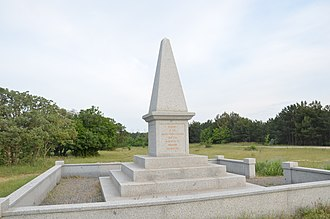 41st (Welch) Regiment of Foot - Memorial to the fallen at the Battle of Inkerman where the regiment captured the Russian drums in November 1854