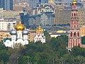 Новодевичий монастырь, вид с Воробьёвых гор. Moscow, Russia. - panoramio.jpg