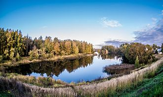 Smolensky District, Smolensk Oblast - A lake by the village of Nagat.