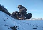 Подрыв обрушенных скальных пород на Бурейском водохранилище 06.jpg
