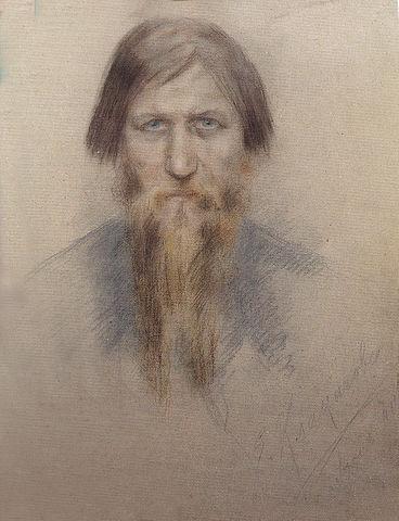 Распутин в 1914 году. Автор Е.Н.Клокачёва