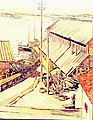 Фогелер Г. Вид на пристань у Кандалакшского рыбоконсервного завода. 1933 -1934 гг..jpg