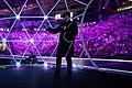 Художник Денис Семенов на открытии чемпионата Worldskills в Казани в 2019 году.jpg