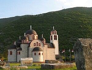 Ljubinje - Orthodox church in Ljubinje