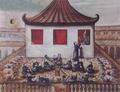 ภาพวาดการสังเกตสุริยุปราคาของสมเด็จพระนารายณ์มหาราช.png