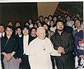 ローマ法王パウロⅡ世と西村直記との写真.jpg
