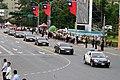 五月二十日 中華民國第十四任總統蔡英文座車抵總統府 (27056665401).jpg