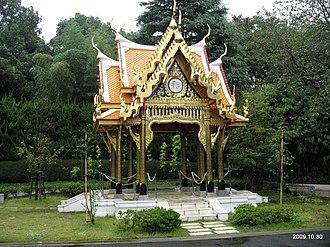Sala (Thai architecture) - Sala Thai at Ueno Zoo Tokyo
