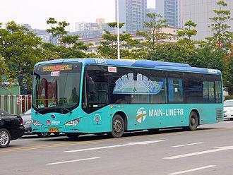 BYD K9 - Image: 深圳公交M375路K9