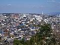 烏帽子形公園古墳広場展望台から河内長野市街を望む 2013.2.10 - panoramio.jpg