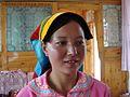 美丽的鲜卑后裔-青海土族姑娘 beauty of China Tu - panoramio.jpg