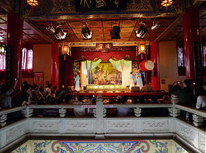 Pavilion of Prince Teng - Theatre stage