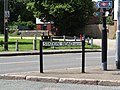 -2019-06-17 Street name sign, Station road, West Runton.JPG