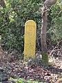 -2021-03-15 Fire hydrant marker post, Heath Road, Crostwight, Norfolk.JPG