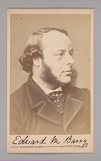 Edward Middleton Barry English architect