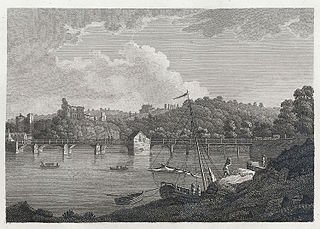 The Bridge and Castle at Chepstow